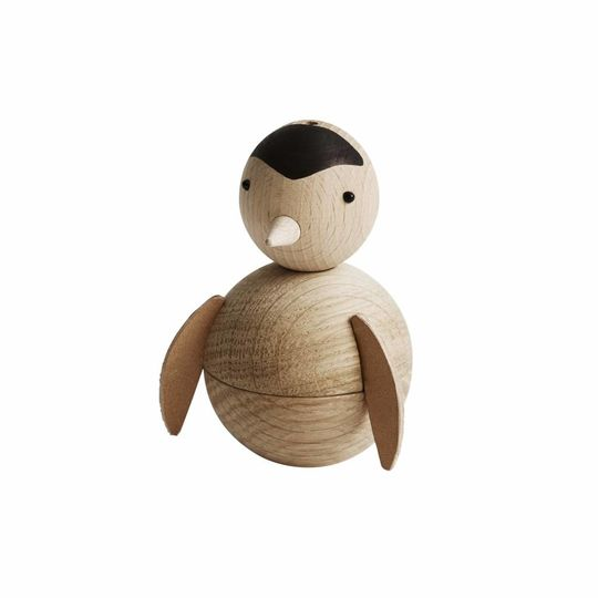 OYOY pinguin naturel houten figuur