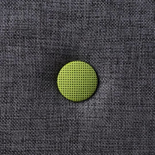 by klipklap KK 3 fold XL blue grey with green buttons (200 cm)