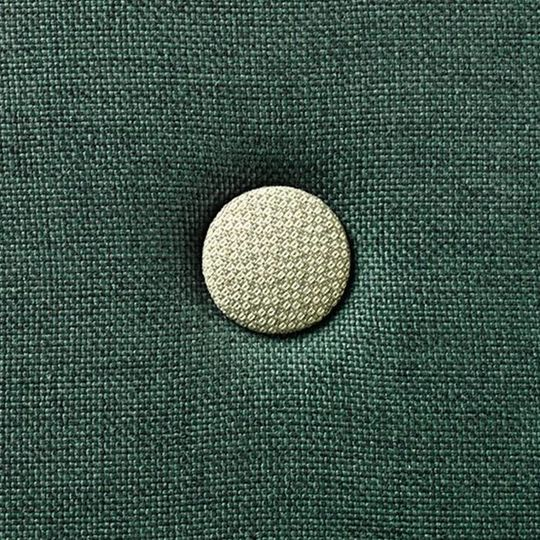 by klipklap KK 4 fold deep green with light green buttons (100x100 cm)