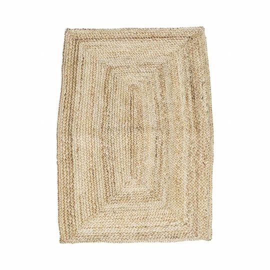 house doctor rectangular rug structure nature (130x85 cm)