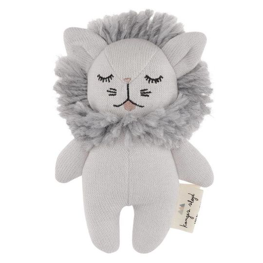 konges sløjd mini lion rattle