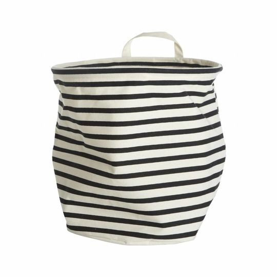house doctor storage bag stripes Ø30cm