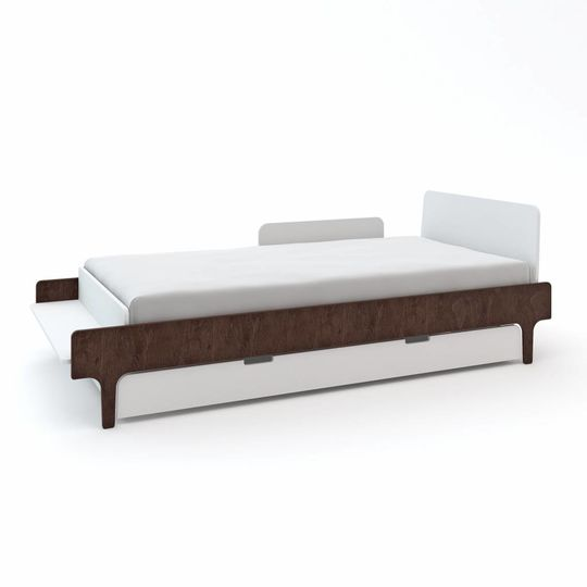 oeuf nyc twin bed river walnut (90x200)