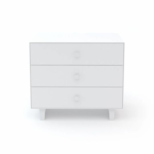 oeuf nyc merlin 3 drawer dresser rhea all white
