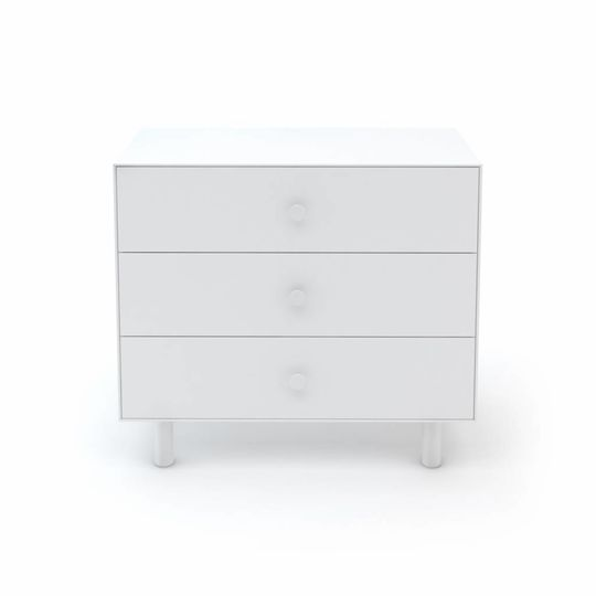 oeuf nyc merlin 3 drawer dresser classic all white
