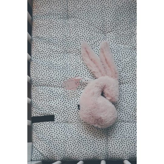 mies & co snuggle bunny small for pacifier roze