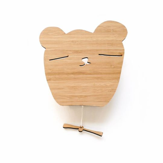 ted & tone bear bamboo music box