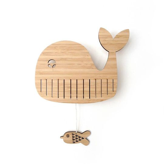ted & tone bear bamboo music box willem whale