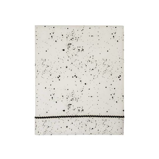 mies & co flat sheet cot galaxy offwhite