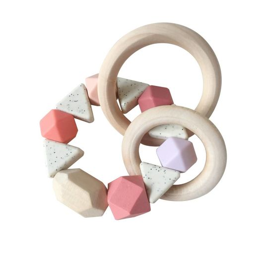 play at slaep rattle / teether pinkster special edition
