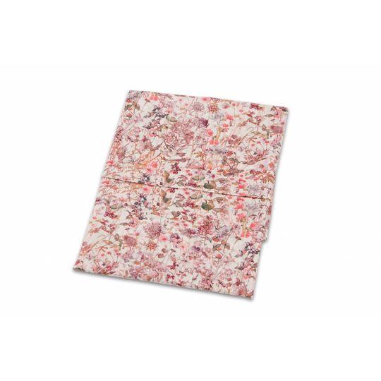 super carla cradle sheet wild flowers rose 75x100