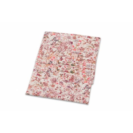 super carla cot sheet wild flowers rose 110x140