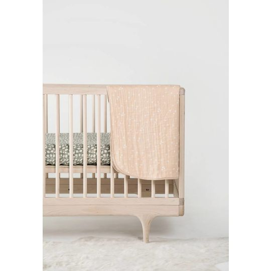 rylee + cru  fitted sheet baby cot lush print