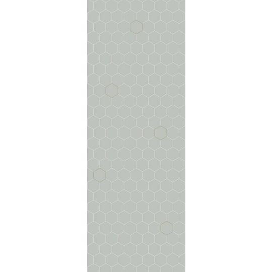 bibelotte honeycomb seagreen wallpaper