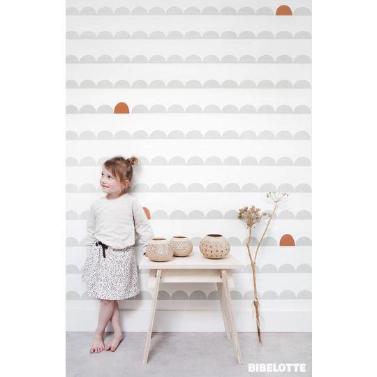 bibelotte boogje seagreen wallpaper