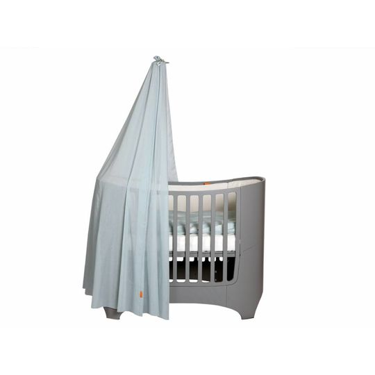 leander canope misty blue  for leander baby cot