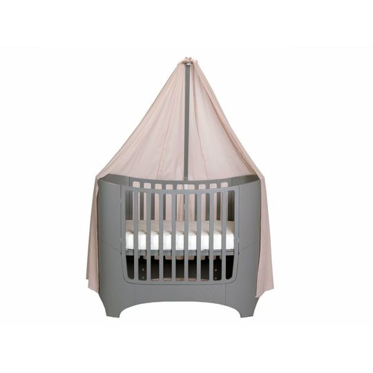 leander canope soft pink  for leander baby cot