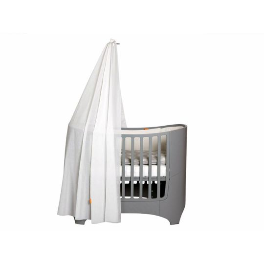 leander canope stick grey for baby bed / cot