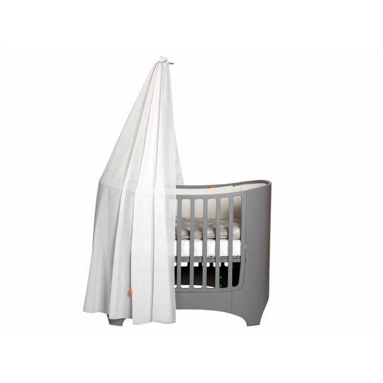 Leander Leander piekstok klamboe grijs voor baby bed / ledikant