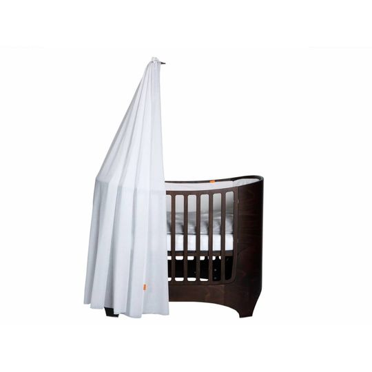 Leander canope stick walnut for baby bed / cot