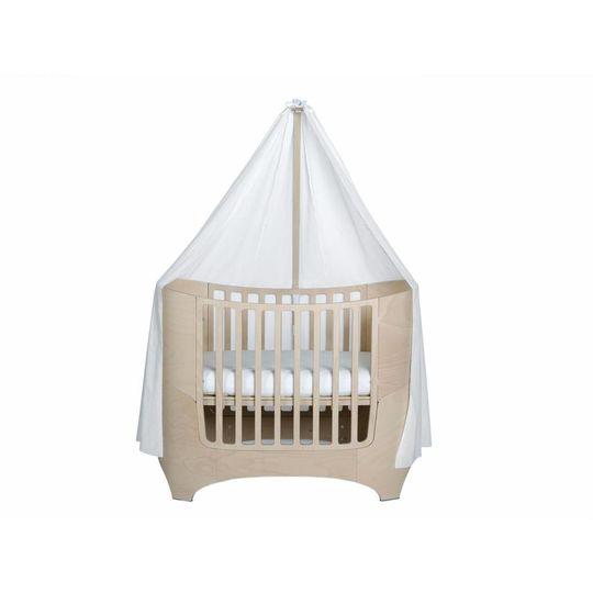 leander piekstok natural white wash voor baby bed / ledikant