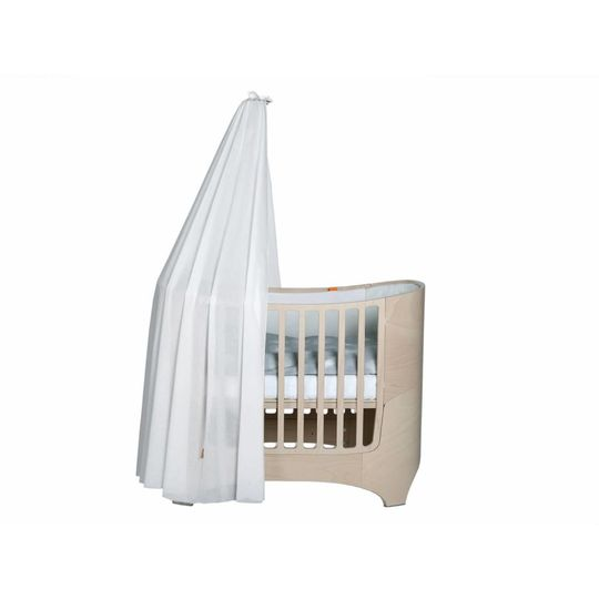 leander canope stick natural white wash for baby bed / cot