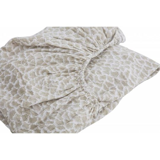 moumout fitted sheet papuche cotton cactus 60x120