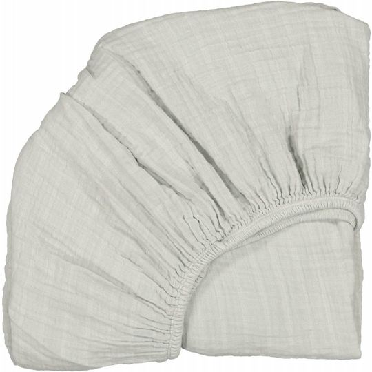 moumout fitted sheet papuche almond 90x200