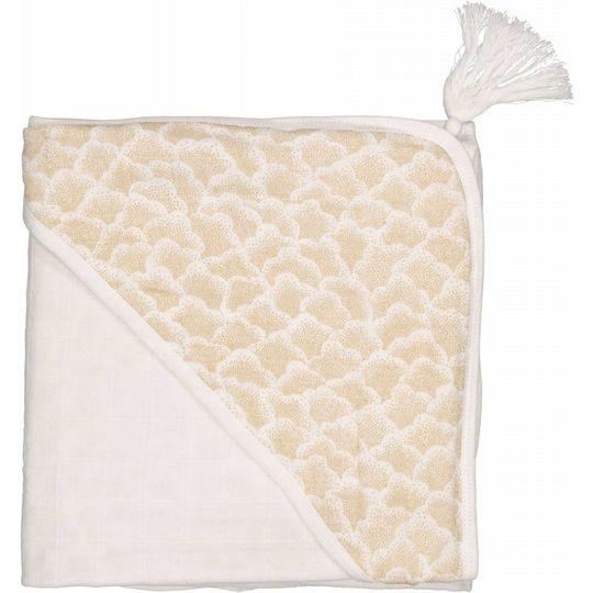 moumout muslin hooded towel sybel cotton cactus