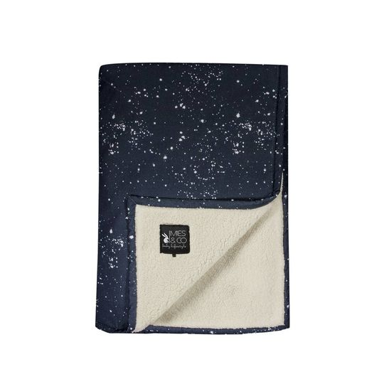 mies & co soft teddy dekentje galaxy parisian night