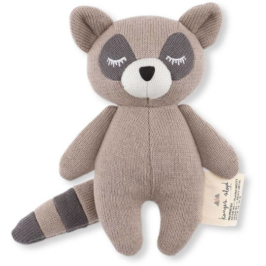 konges sløjd mini racoon cuddle / rattle