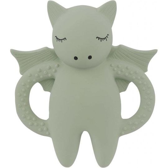 konges sløjd teether soother bat mint