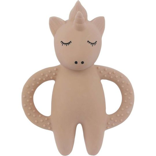 konges sløjd teether soother lunicorn pink
