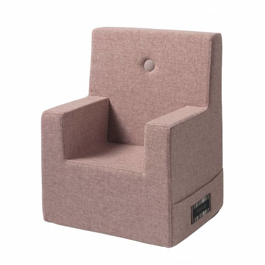 by klipklap KK kids chair XL (2-6 years) rose with rose button