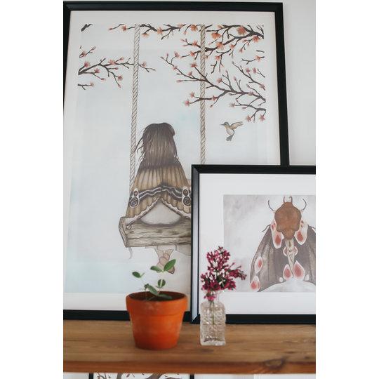 "That's Mine That's  Mine poster ""Wondering fairy girl"" 50x70"