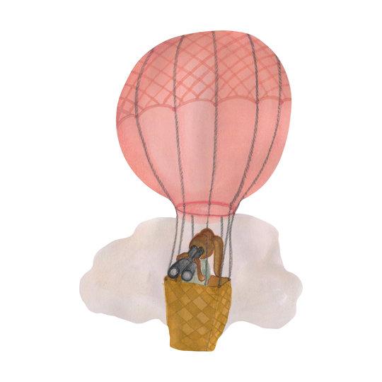 That's Mine That's Mine muursticker luchtballon roze