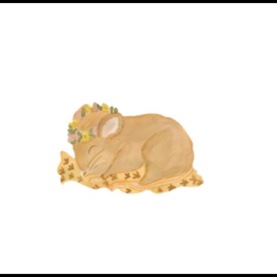 That's Mine That's Mine muursticker Baby mouse
