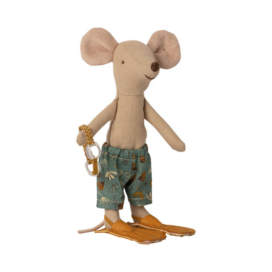 Maileg Maileg grote broer muis in strandhuisje