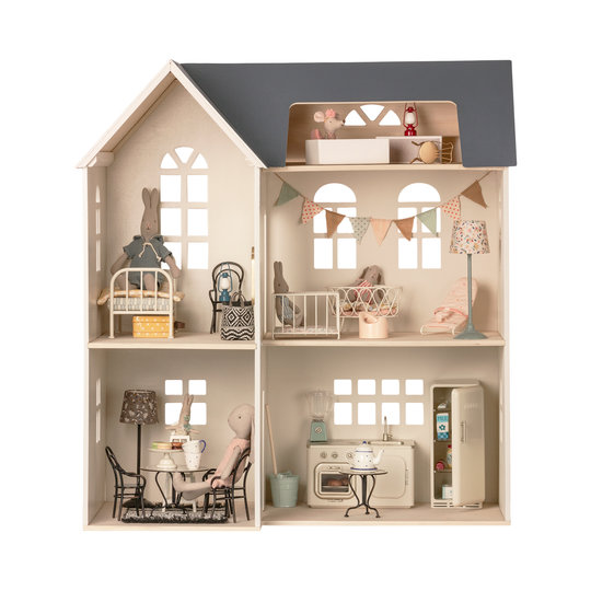 Maileg Maileg miniatuur koelkast off white