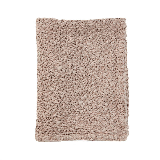 Mies & Co Mies & Co Blanket subtle honeycomb blossom powder baby 70x100