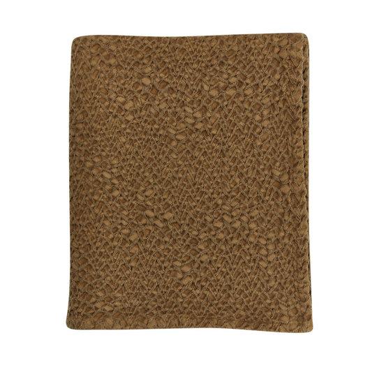 Mies & Co Mies & Co Dekentje subtiele honingraat bronze mist baby 70x100