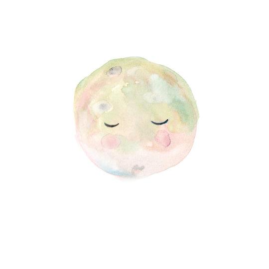 van Dijck Illustratie Iris van Dijck 'La Luna'