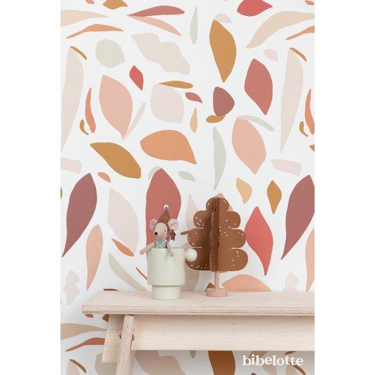 Bibelotte Bibelotte Wallpaper fruity pink