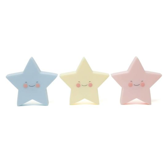eef lillemor star nightlight blue