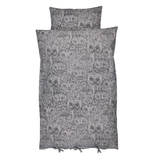 soft gallery owl adult duvet cover drizzle