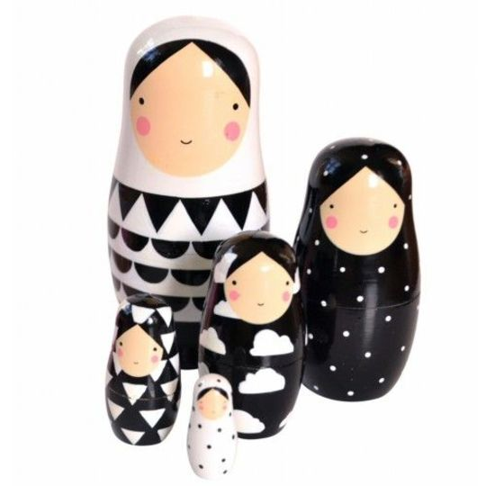 psikhouvanjou sketch inc nesting dolls black and white