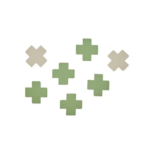 bibelotte cross green stickers