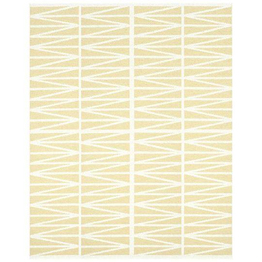 brita sweden helmi rug yellow
