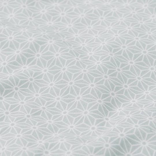 camcam copenhagen sashiko mint duvet cover junior