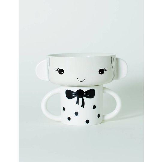 wee gallery porcelain set girl